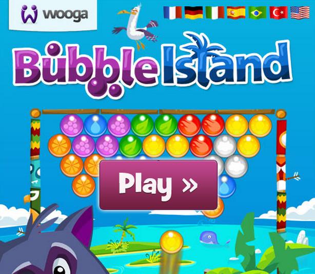 Juego Bubble Island