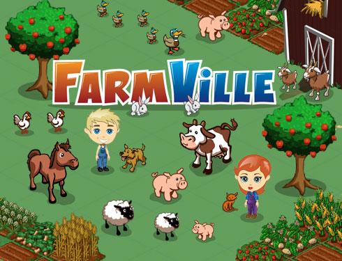 Juego Farmville en Facebook