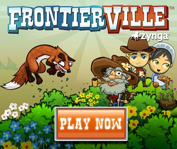Frontierville de Zynga en Facebook