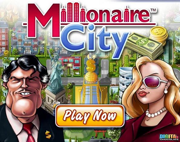 Millionaire city juego en Facebook