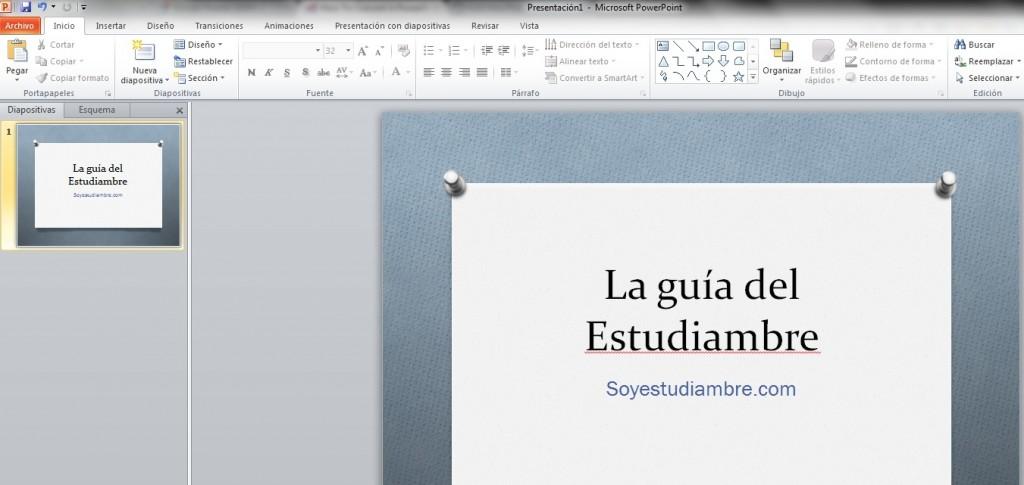 Como crear un video desde PowerPoint con un solo clic