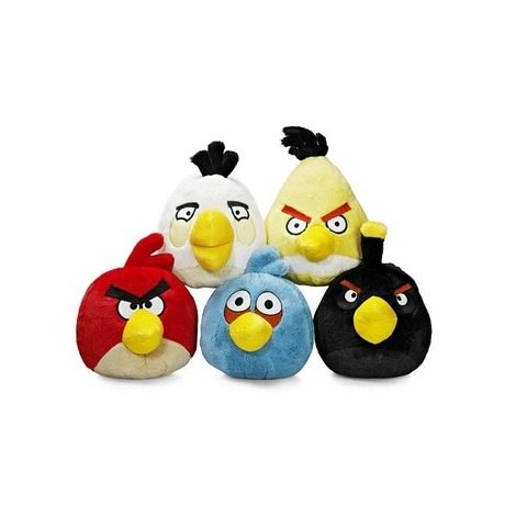 1peluches angry birds Top 10 productos inspirados en Angry birds