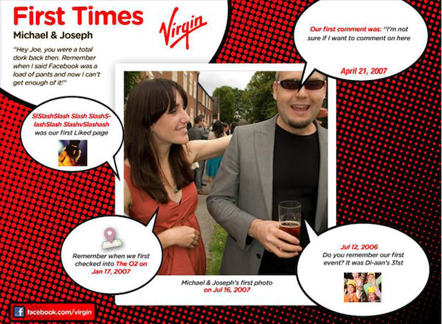 virgin first times Descubre tu primera vez con tus amigos de Facebook en Collage [App]