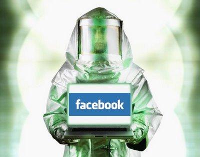 Cuidado con Facebook: Virus