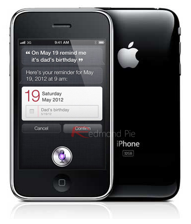 iPhone 3GS Siri