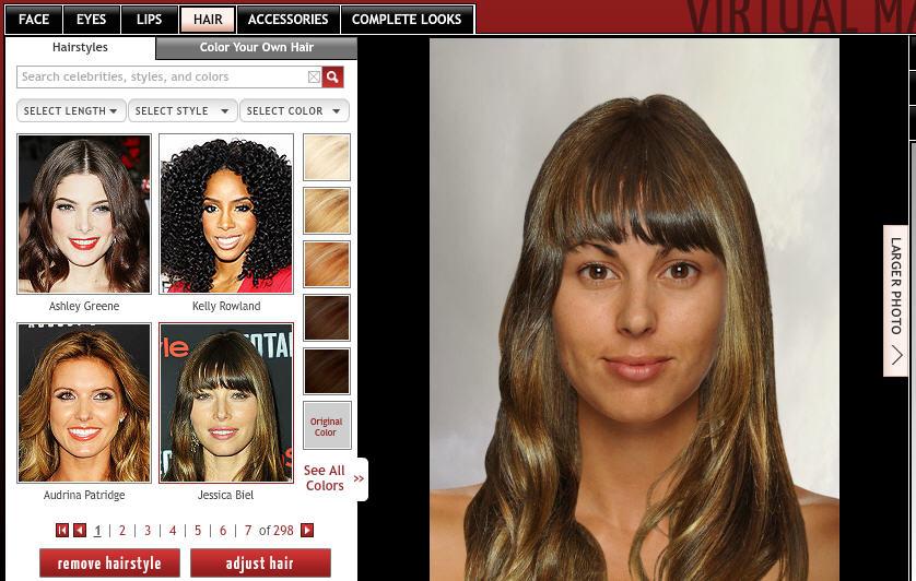cambia de look y prueba cortes de cabello gratis en internet